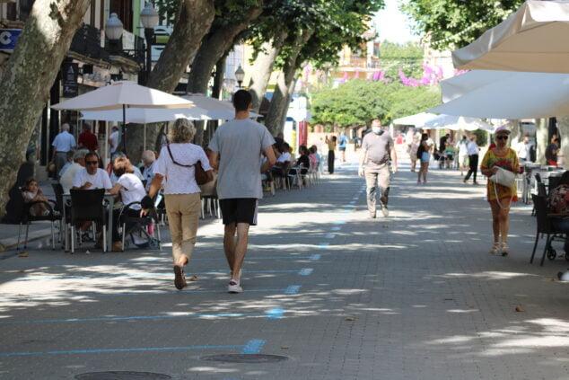 Imagen: Calle Campos Dénia