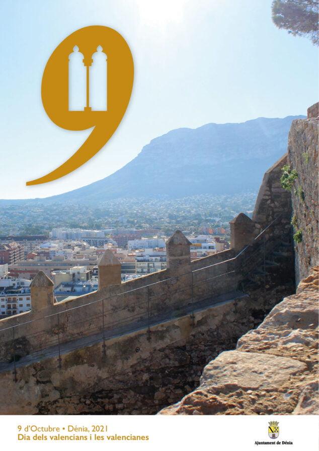 Imagen: Cartel 9 d'Octubre en Dénia