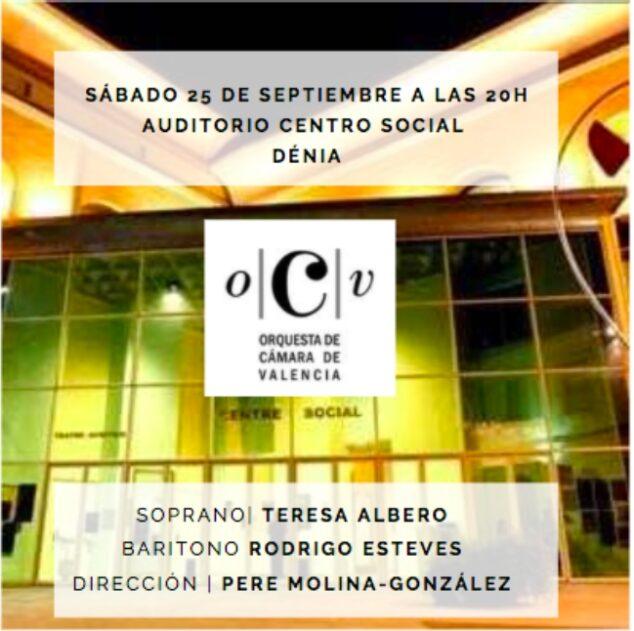 Imagen: Cartel de la Gala Lírica de Dénia