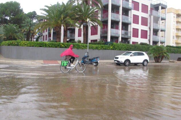 Imagen: Corte de calles por lluvias Dénia - Septiembre 2021