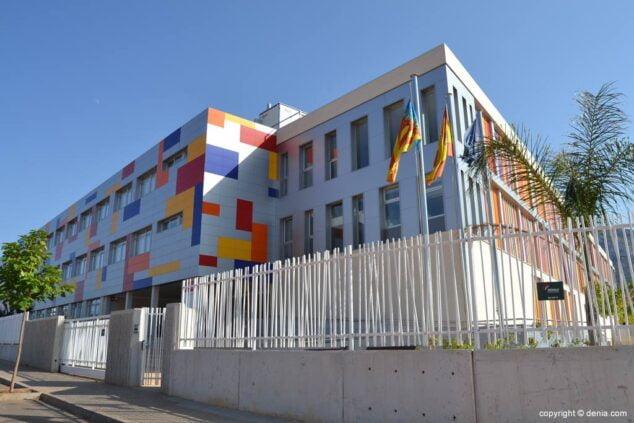 Imagen: Edificio de la EOI Dénia