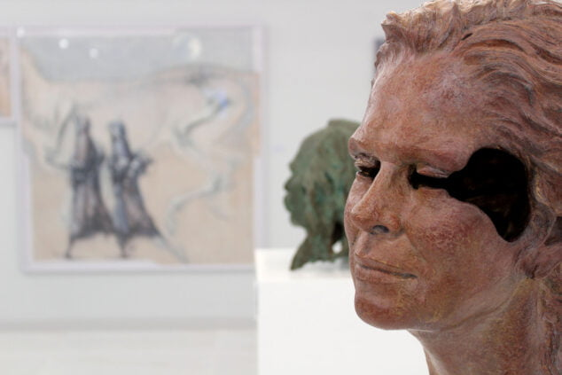 Imagen: Escultura en el Espai d'Art Joan Castejón