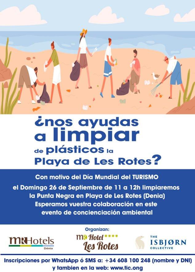 Imagen: Evento limpiar la Punta Negra de Dénia