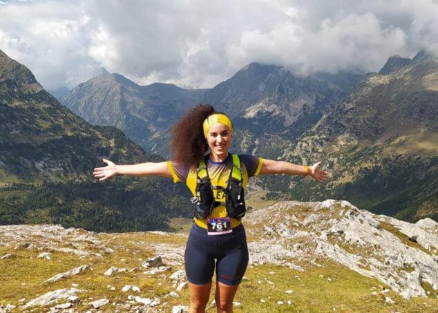Imagen: Mariona Valor en los Pirineos