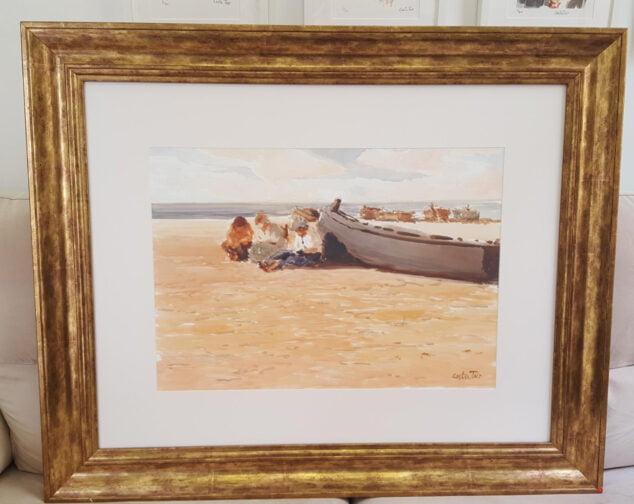 Imagen: Obra adquirida por el Ayuntameinto de Dénia del artista Costa Tur