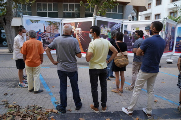 Imagen: Presentación de la exposición en Dénia | Fotografía de Paula Caballero