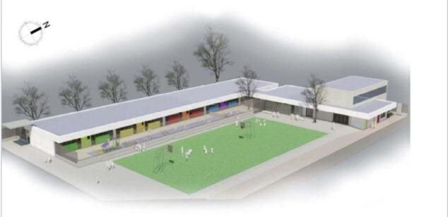 Imagen: Proyecto del nuevo aulario de Infantil en el Pou de la Muntanya
