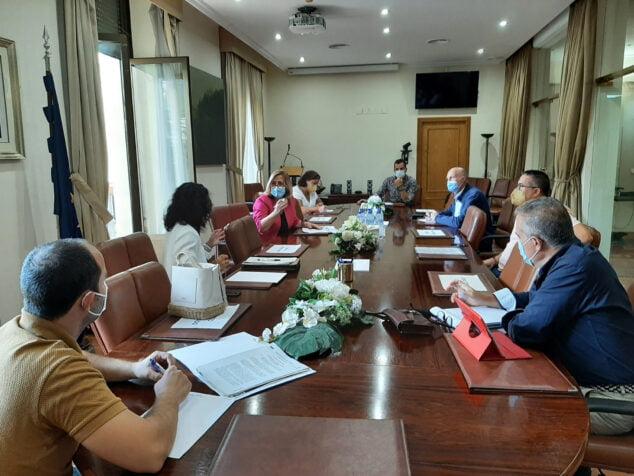 Imagen: Reunión sobre el proyecto de regeneración del litoral de Dénia
