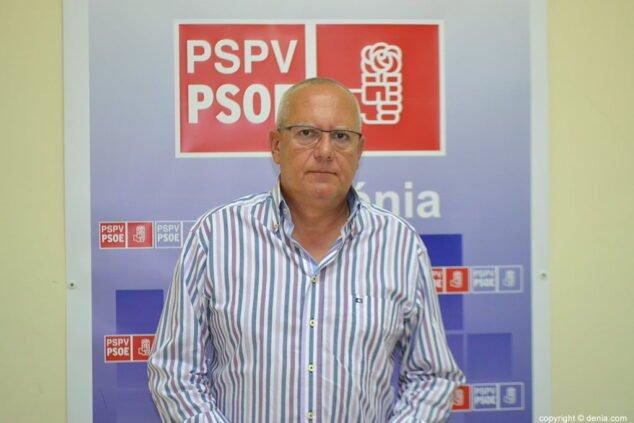 Imagen: Vicent Grimalt, alcalde de Dénia