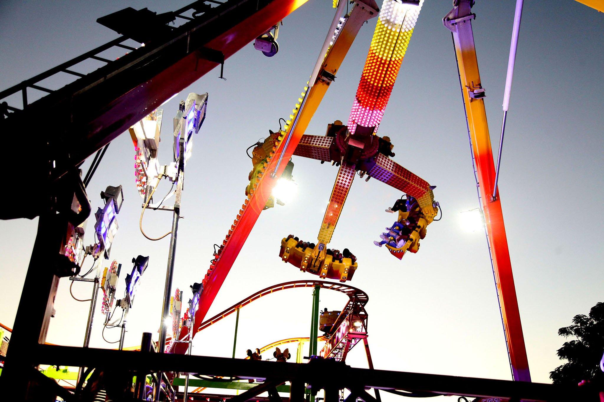 La Feria de atracciones de Dénia
