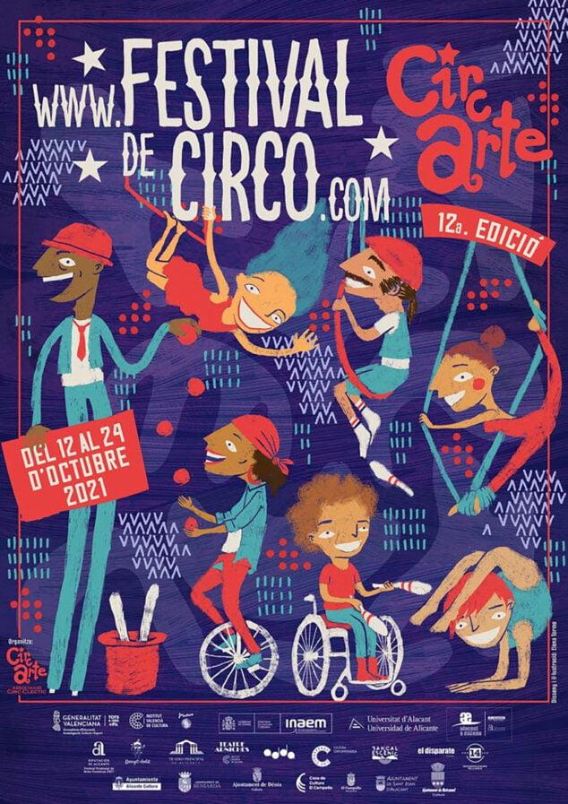 Imagen: Cartel Festival de Circo Circarte